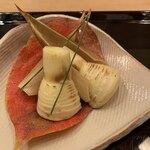 119702432 - 先付:福岡産早筍の素焼き