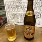 成田家 - 恵比寿中瓶