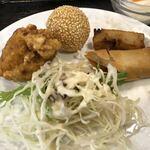 Shanhaihanten - フカヒレ麺セット 950円