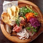 Dining kaze 池袋の風 - 前菜盛り合わせ