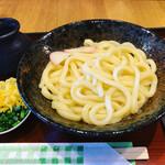 自家製麺 一合まいた - 釜玉(ぶっかけ) ¥650