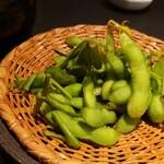 119707456 - 本日の茹でたて枝豆