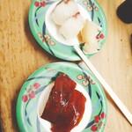 立喰い寿司 七幸 - 漬けマグロ ハマチ
