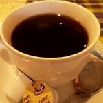 ラージカレー - ホットコーヒー