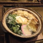 かまど - 料理写真:鍋焼きうどん