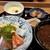 博多 赤らく - 貝汁と茶碗蒸し、でかいですよ。(笑)