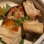 くずし割烹 和dining 一昇 - 薩摩赤鶏の柚庵焼き