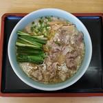 キネドール - 牛トロ麺(800円)です。