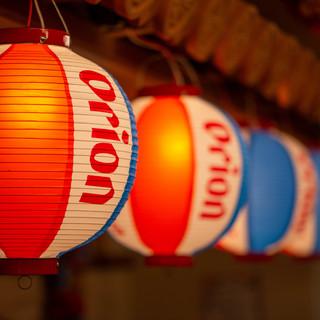 沖縄を感じる店内【座敷個室】もあり、歓送迎会・各種宴会にも◎