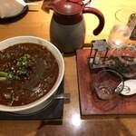 銀座 麒麟 - 料理写真:辛みの効いた黒胡麻の担々麺
