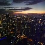 SKY 40 - 空中庭園からの夕焼け