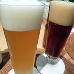 小江戸蔵里内 鏡山酒造 売店 - COEDO 白・紅赤