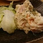 炭火串焼まるよし - ポテトサラダ 420円