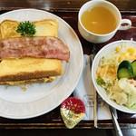 るぽ - フレンチトーストセット