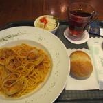 イタリアンハウス カフェ&バー - パスタセット(\980-)