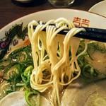 福ヤ - バリカタ麺!マイルドでありながらしっかり豚骨でクリーミーなスープ。
