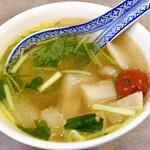 Botanen - ランチのスープ