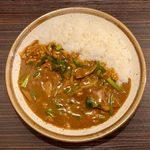 カレーハウス CoCo壱番屋 - 料理写真:レバニラ煮込みカレー ¥857 + 4辛 ¥88