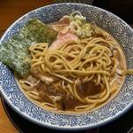 麺匠而今 - 平打ちストレート太麺