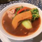 119734941 - チキン野菜 1280円 辛さ5(プリッキーヌ入) ライスM