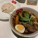 北海道スープカレー Suage - 生ラム野菜カレー