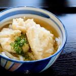 麦笑 - 料理写真:とり天うどん(かけ+天婦羅とり)