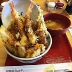 えびのや - 海老二本天丼