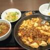中華居酒屋 一品楼 - 料理写真:麻婆豆腐定食750円税込。
