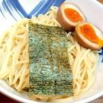 麺屋 楼蘭 - 焦がし味噌つけ麺♪味玉入り ★麺のアップ