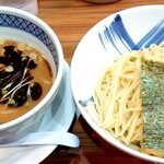 麺屋 楼蘭 - 焦がし味噌つけ麺♪味玉入り
