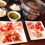 119746091 - 3種類のお肉×②❤︎