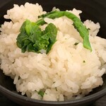 わら焼き酒場 龍神丸 - 菜の花ご飯
