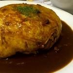 キッチン西山 - オムライス大盛り!