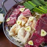 北一倶楽部 - 料理写真:油カス使用の絶品!加寿もつ鍋。