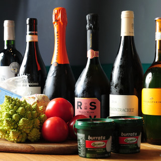お料理に合わせて愉しむワインとのペアリングはいかがですか?♪
