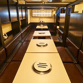 お仕事帰りから、各種ご宴会にも◎人数に合わせた空間をご提供。