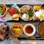 和食カフェ えん - おまかせえんランチ 1250円
