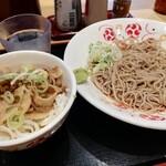 119755461 - 豚丼セット¥(ぶぶ漬け)