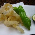 相見屋 - 白魚の天ぷら