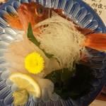 鯛将丸 - ガシラ姿造り680円