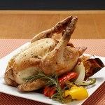 ハーブ鶏ローストチキン