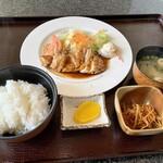 珈琲待夢 - 料理写真:訪問日の日替わりランチ。