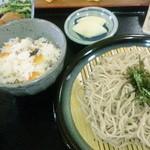蕎麦の舎  いじら - そば定食(1150円)