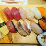 鮨政 - にぎり大盛り(1000円)