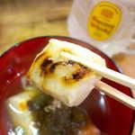 弁慶  - ただスープを掛けただけでなく、ちゃんと煮込んであるから味が染みている