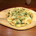 創作鉄板焼 鉄創 - 桜海老のピザみたいなの