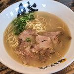 博多ラーメン 膳 - 料理写真:「おいしいラーメン」(320円)。