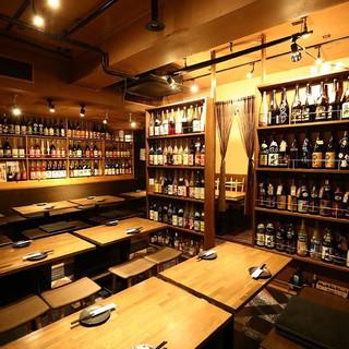 店内は広々としていてお食事しやすい空間になっております♪