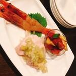 二階の中華 - 中華前菜3種盛り