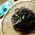音威子府TOKYO - 料理写真:蕎麦。黒い!!薬味がたくさんあって嬉しいですね